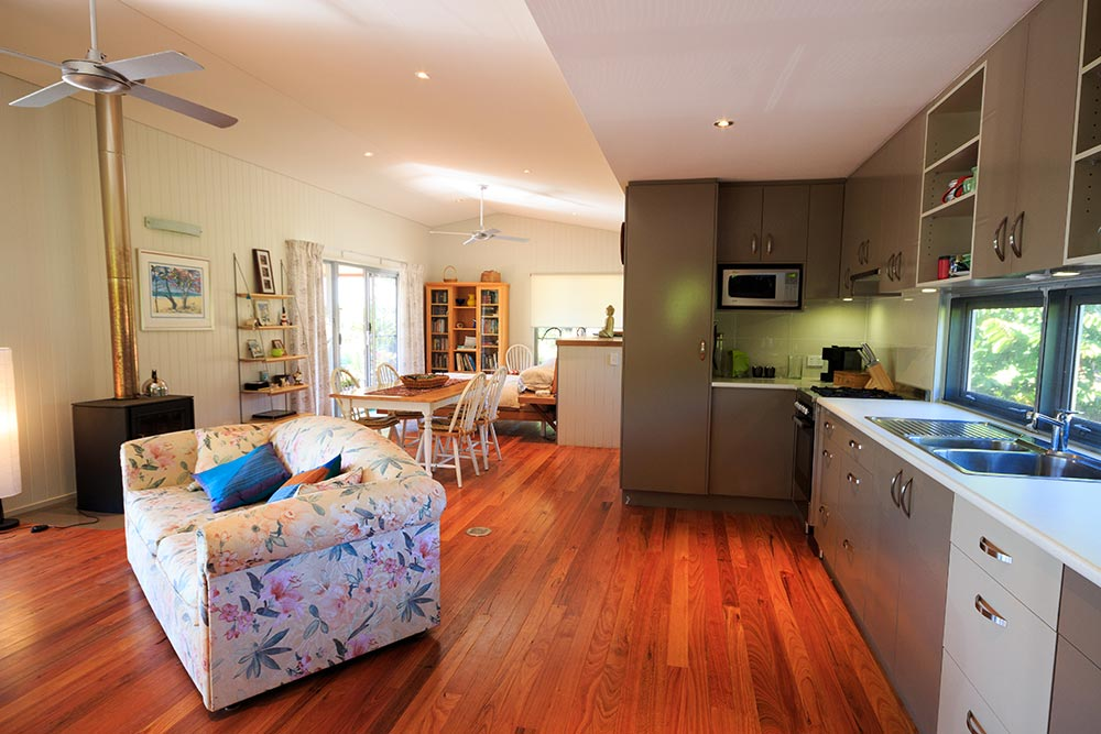 cabin-interior-at montville-accommodation